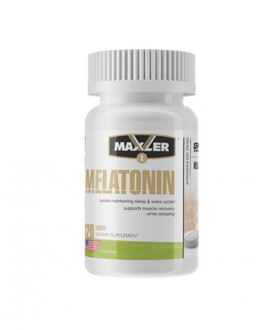 Maxler, Мелатонин, таблетки, 120 шт.