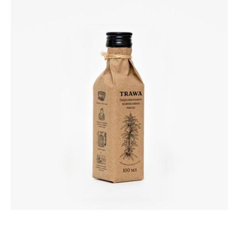 TRAWA, Масло конопляное сыродавленное, 100 мл