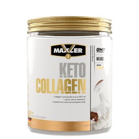 Maxler, Кето Коллаген (кокос), порошок, 400 г