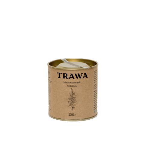 TRAWA, Обезжиренный миндальный орех, 100 г