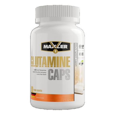 Maxler, L-глутамин, вегетарианские капсулы, 90 шт.