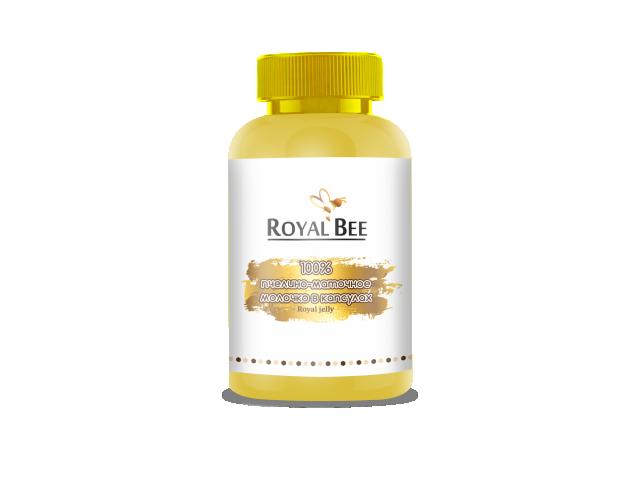 RoyalBee, Пчелино-маточное молочко, капсулы, 60 шт.