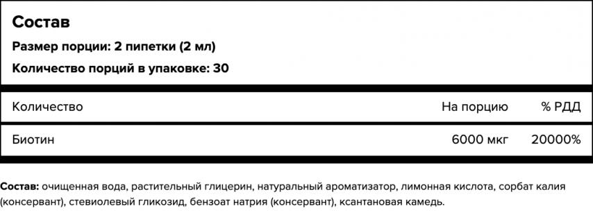 Maxler, Биотин, капли, 60 мл