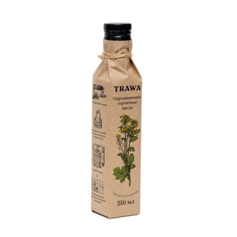 TRAWA, Масло горчичное сыродавленное, 250 мл