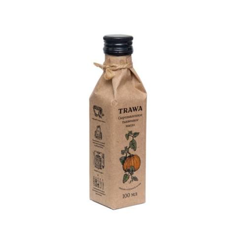 TRAWA, Масло тыквенное сыродавленное, 100 мл