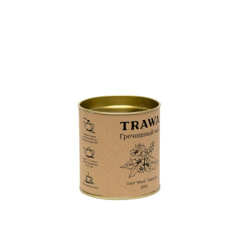 TRAWA, Гречишный чай (сорт Black), гранулы, 100 г
