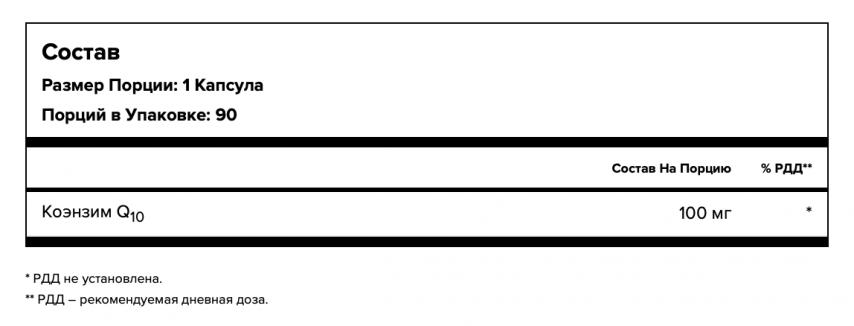 Maxler, Коэнзим Q10, капсулы, 90 шт.
