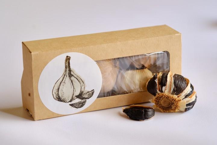 Black Garlic, Черный чеснок (ферментированный), 100 г