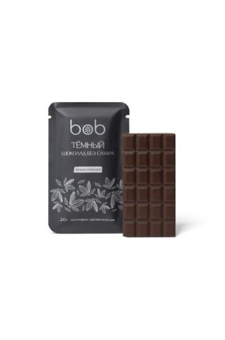 bob, Тёмный шоколад без сахара , 20 гр