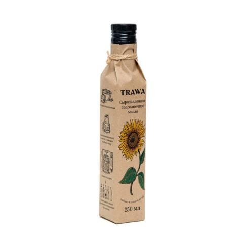TRAWA, Масло подсолнечное сыродавленное, 250 мл