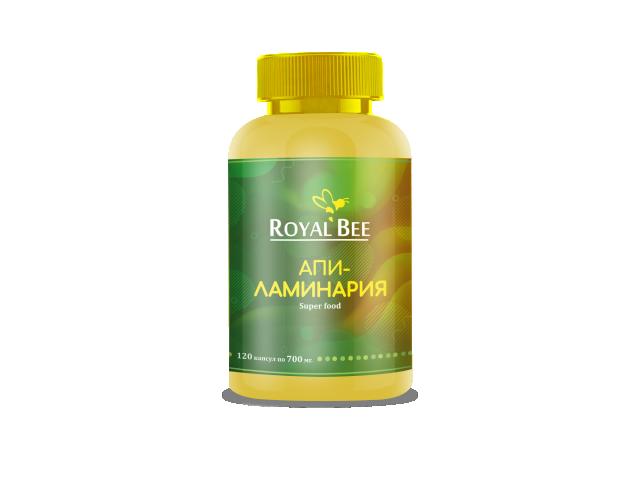 RoyalBee, Апи-ламинария, капсулы, 120 шт.