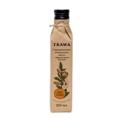 TRAWA, Масло миндальное сыродавленное с эфирами апельсина, 250 мл