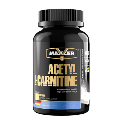 Maxler, Ацетил L-Карнитин, вегетарианские капсулы, 100 шт.