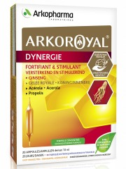 Arkopharma Laboratoires, Arkoroyal Dynergie (укрепление иммунитета, снижение усталости), ампулы, 20х10 мл