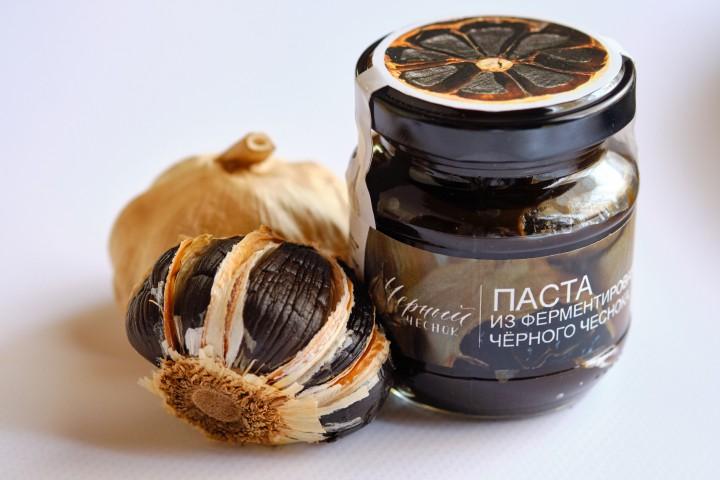 Black Garlic, Паста из черного чеснока, 120 г