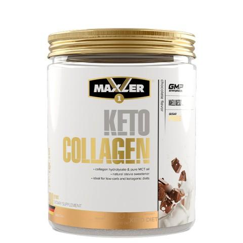 Maxler, Кето Коллаген (шоколад), порошок, 400 г