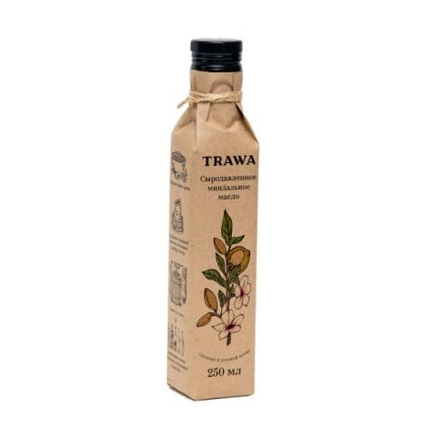 TRAWA, Масло миндальное сыродавленное, 250 мл
