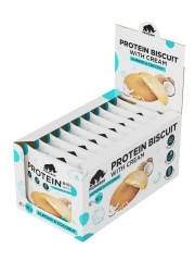 Prime Kraft, Протеиновое печенье PRIMEBAR BISCUIT (кокос и миндаль), 10 шт х 40 гр