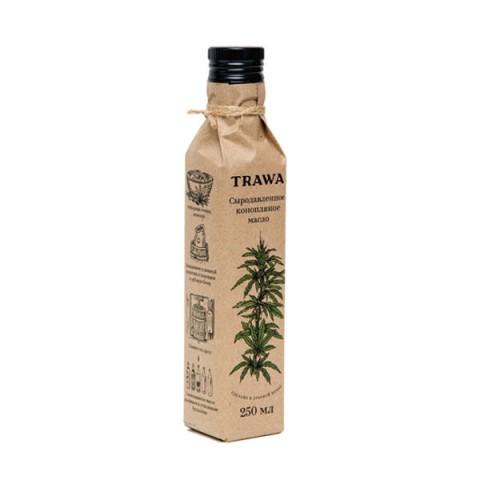 TRAWA, Масло конопляное сыродавленное, 250 мл